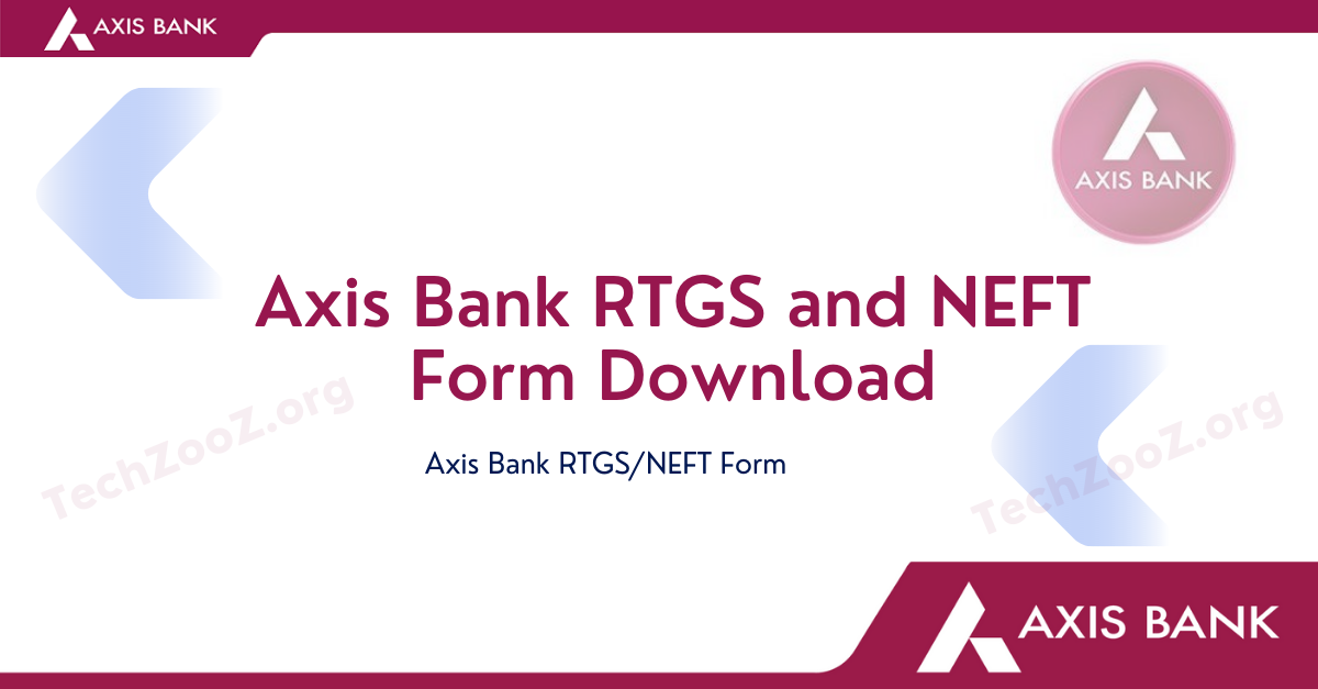 Axis Bank RTGS_NEFT Form