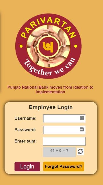 PNB Knowledge Centre Login Process